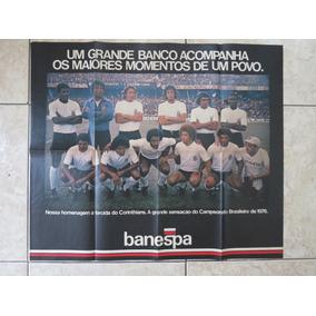 Poster Gigante Corinthians Invasão Do Maracanã Brasileiro 76