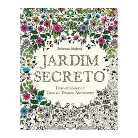 Livro Jardim Secreto - Livro De Colorir