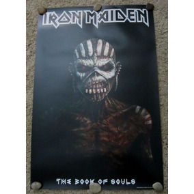 Iron Maiden Poster Book Of Souls Oficial Import Uk