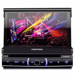 Dvd Retratil 7 Pol. Positron Sp6320 Bt C/ Bluetooth Usb Sd