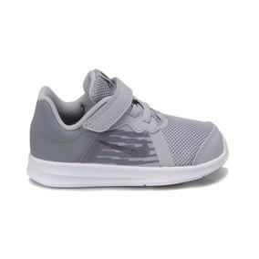 Tenis Nike Downshifter 8 Gris/blanco Bebé 12-16 Zx Original.