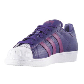adidas superstar violetas