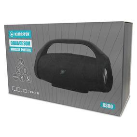 Caixa De Som Bluetooth Portátil Kimaster K380