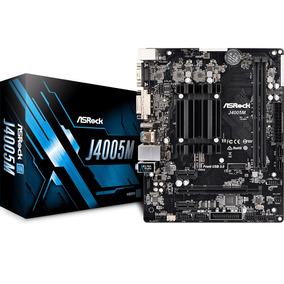 Combo Mother + Micro Asrock J4005 Intel Dual Core Soporta 4k