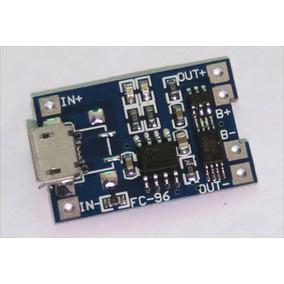 Carregador De Bateria Litio 18650 - Tp4056 Tp-4056