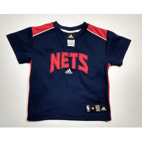 c2b2930af920d Remera Niño adidas Brooklyn Nets Nba Talle M 5 6