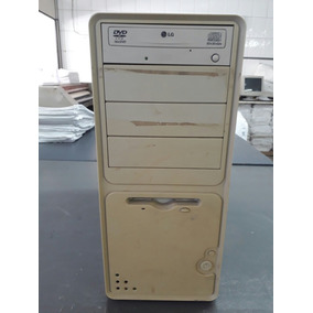 Torre Athlon 1 Ghz 1gb Ram Hd 160 Gb Gravador Cd Leitor Dvd