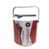Cooler Caixa Térmica Bud Mai So 10 Latas Cerveja Tá Barato