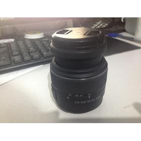Lente Sony 18-55mm Seminova P/ Camera Sony A-mount