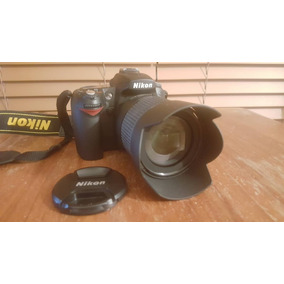 Camara Nikon D90 Con Lente 18-105