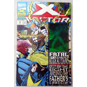 X-factor Nº 92: Holographic Cover - Fatal Atractions - 1993