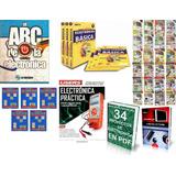 Capacitación Electrónica Básica-avanzada Curs Varios Libros