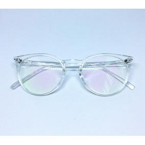 Armação Óculos De Grau Vintage Acetato Transparente - Óculos no ... ee36ea9f3e