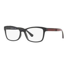 Armação Oculos Grau Emporio Armani Ea3128 5017 54 Preto Bord 09f0f65efb