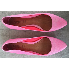 Sapatilha Schutz Rosa Neon