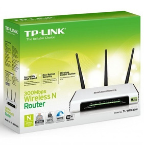 Router Inalambrico Tp-link 300 Mbps Tl-wr940n 3 Antenas