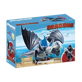 Brinquedo Playmobil Dragons Drago E Thuderclaw Sunny 9248