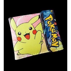 Cartera Pikachu Pokemon Grupal Anime Otaku