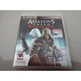 Assassins Creed Revelations Original Para Ps3