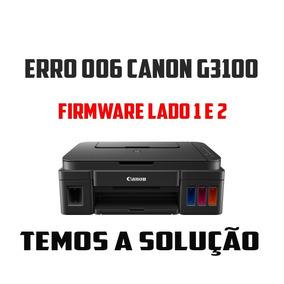Erro 006 Canon G3100