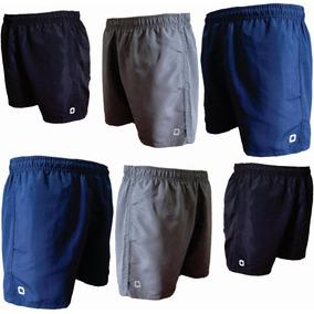 Kit 6 Short Tactel Esporte Masculino