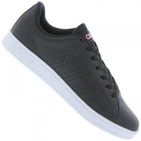 Tênis adidas Casual Vs Advantage Clean Preto Feminino