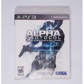 Alpha Protocol The Espionage Rpg - Jogo Ps3 Mídia Física