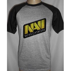 Camiseta Raglan Equipe Navi E-sports Jogos Online Game