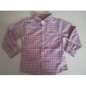 9157a33841675 Camisa Manga Larga Y Corta Jeans Niño Varon