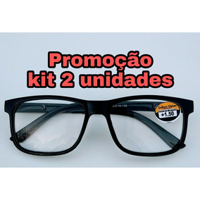 3da8cc6ef7bbb Oculos Para Leitura Com Grau 1,25 - Óculos no Mercado Livre Brasil