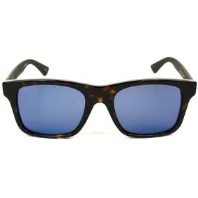 91e725dbb5 Lentes De Sol Gucci Para Hombre Gg0008s 003 Azul Café/gris · Lentes Gucci  Gg0008s 003 Carey Caballero Original