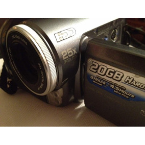 Camara Digital Jvc Hdd Disco Duro 20gb- 25x Zoom Optico-200d