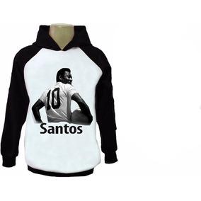 Blusa Moleton Santos Casacos Moletom - Moletom Masculinas no Mercado ... 7b7ddbbf6d3e6