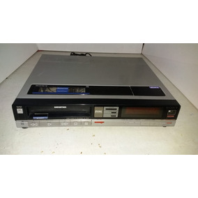 Vídeo Cassete Sony Betamax Sl-30md Funcionando E Gravando