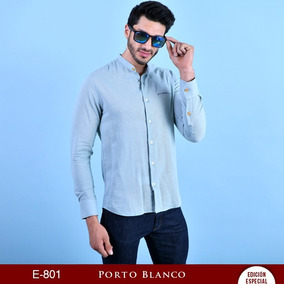 Kit De Blusas Porto Blanco Dama O Caballero Lino Mao De-801