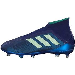 new product 5f573 b5063 Tacos adidas De Futbol Predator A18 Fg Control Skin Blue