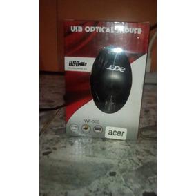 Mouse Acer 1000dpi Optico Usb Para Pc O Laptop Color Negro