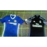Camisas Del Chelsea Y Real Madrid Originales