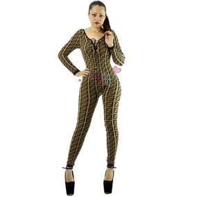 Super Sexy Palazzo Jumpsuit Con Jareta Al Frente Vc06