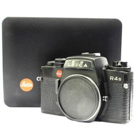 Câmera Leica R4 S Black Reflex 35mm - Usada - Corpo Na Caixa