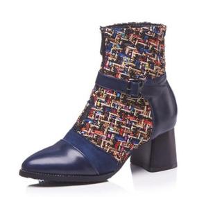 Bota Botin Cuero Mujer - Zapatos para Mujer en Mercado Libre Colombia c7139eaa2c1