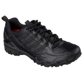 Zapato Tenis Skechers For Work En 24 Cuero Y Antiderrapante