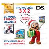 Mario Kart Y Más Juegos Originales Consolas Nintendo Ds 3ds