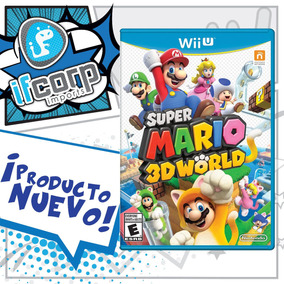 Super Mario 3d World Estandar Nintendo Wii U