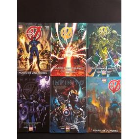 Hqs Os Vingadores / Novos Vingadores - Coleção Completa!