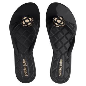 18dfc59bef425 Chinelo Petite Jolie Preto - Sapatos para Feminino em Pernambuco no ...