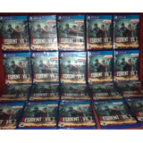 Resident Evil 2 Ps4 Sellado -en Stock Para Entrega Hoy