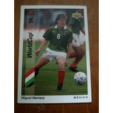 Tarjeta Upper Deck World Cup Usa 1994 Miguel Herrera