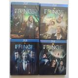 Lote Box Fringe Blu-ray Importado Original 2 A 5 Temporadas