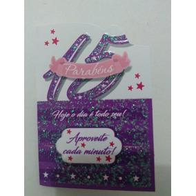 Mini Cartão Aniversário 15 Anos Ref.106